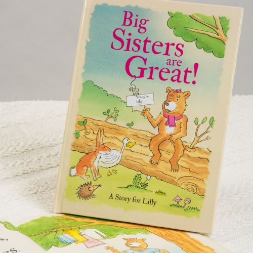 Big Sisters Are Great Hardback Book